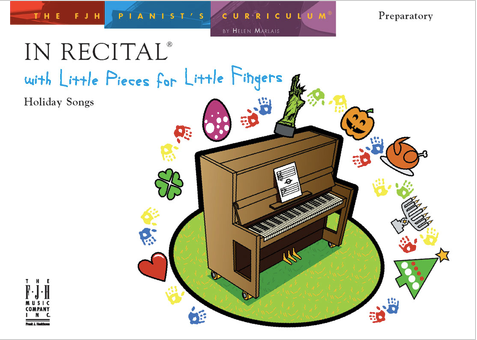 In Recital with Little Pieces for Little Fingers