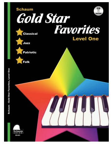 Schaum Gold Star Favorites Level 1