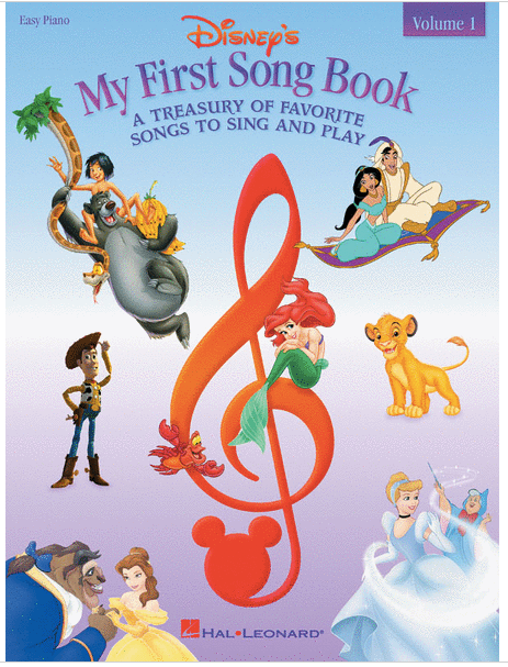 Disney's My First Song Book Volume 1