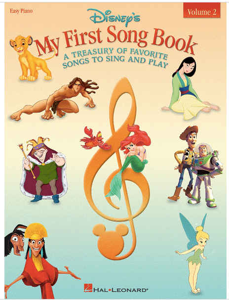 Disney's My First Song Book Volume 2