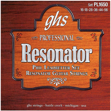 GHS Professional Resonator Guitar Strings