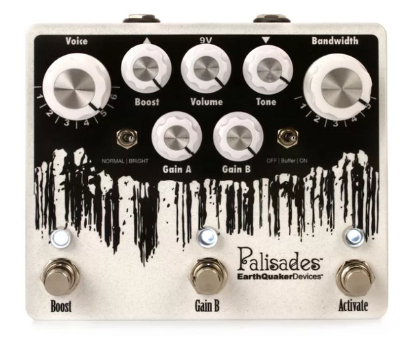 EarthQuaker Palisades V2 Overdrive Pedal