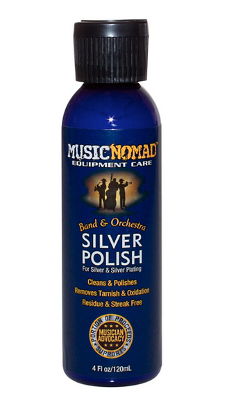 MusicNomad Silver Polish - Silver & Silver Plating