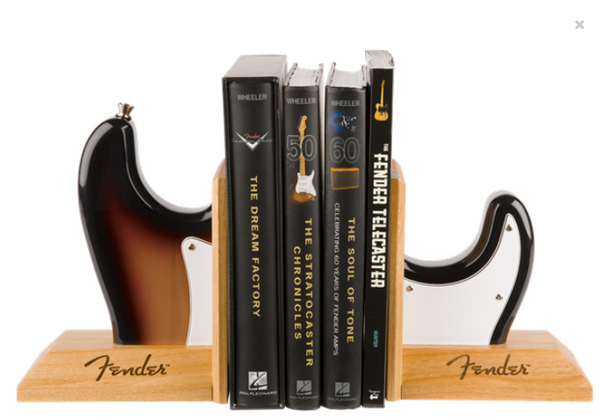 Fender™ Strat™ Body Bookends Sunburst