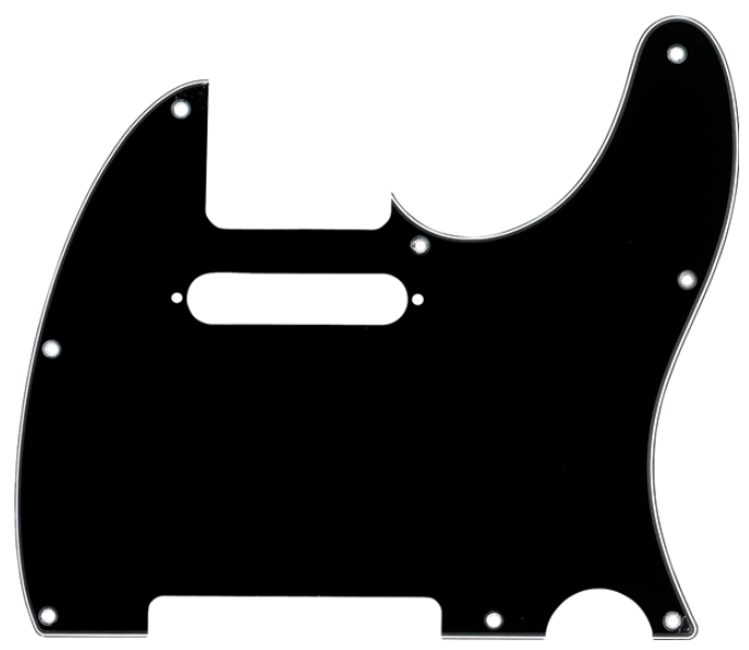 8-HOLE MOUNT MULTI-PLY TELECASTER® PICKGUARDS