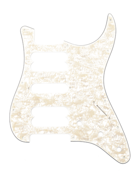 Fender 11-HOLE MODERN-STYLE STRATOCASTER® H/S/H PICKGUARDS