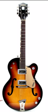Gretsch 6117 Double Anniversary 1961 Sunburst