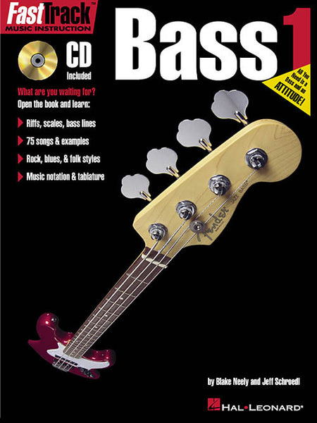 FastTrack Bass Method Book 1