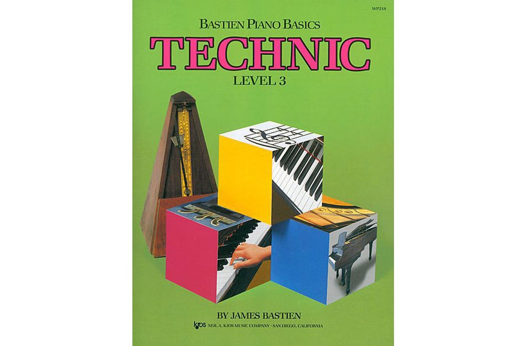 Bastien Piano Basics Level 3