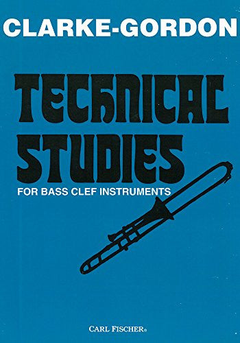 Clark-Gordon Technical Studies for Bass Clef Instruments