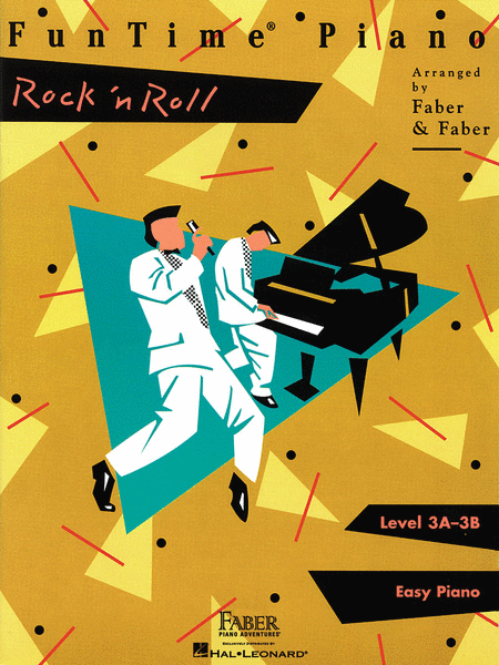 FunTime Piano Rock 'n Roll Level 3A-3B Easy Piano