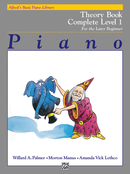Alfred's Basic Piano Course - Theory Book - Complete Level 1