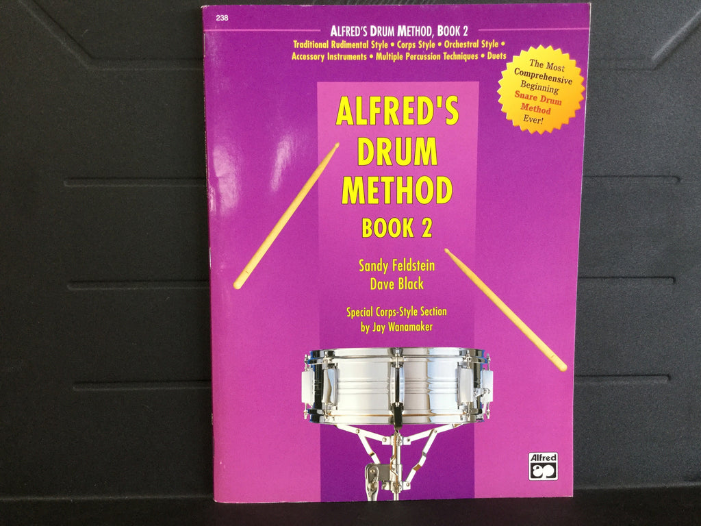 Alfred''s Drum Method Book 2