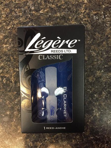 Legere Clarinet Reed Size 3