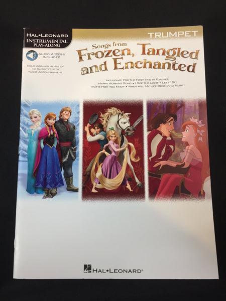 Songs From Frozen, Tangled And Enchanted For Trumpet