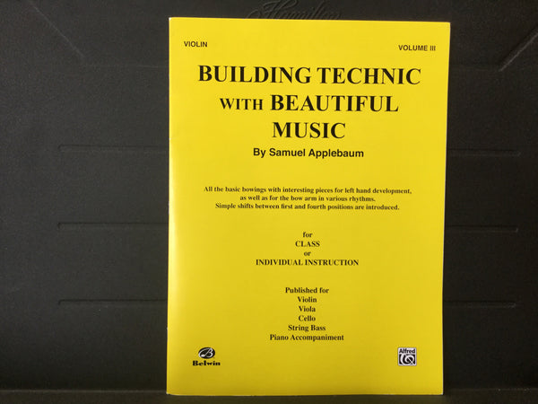Building Technic with Beautiful Music