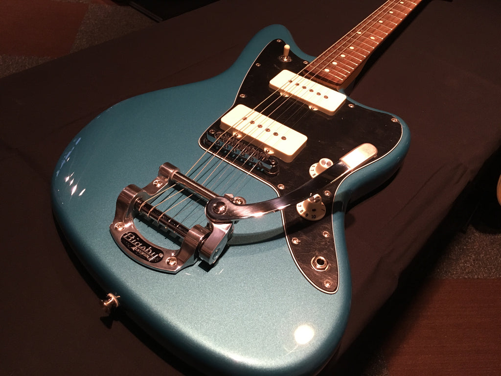 Fender American Special Jazzmaster with Bigby Vibrato Ocean Turquoise