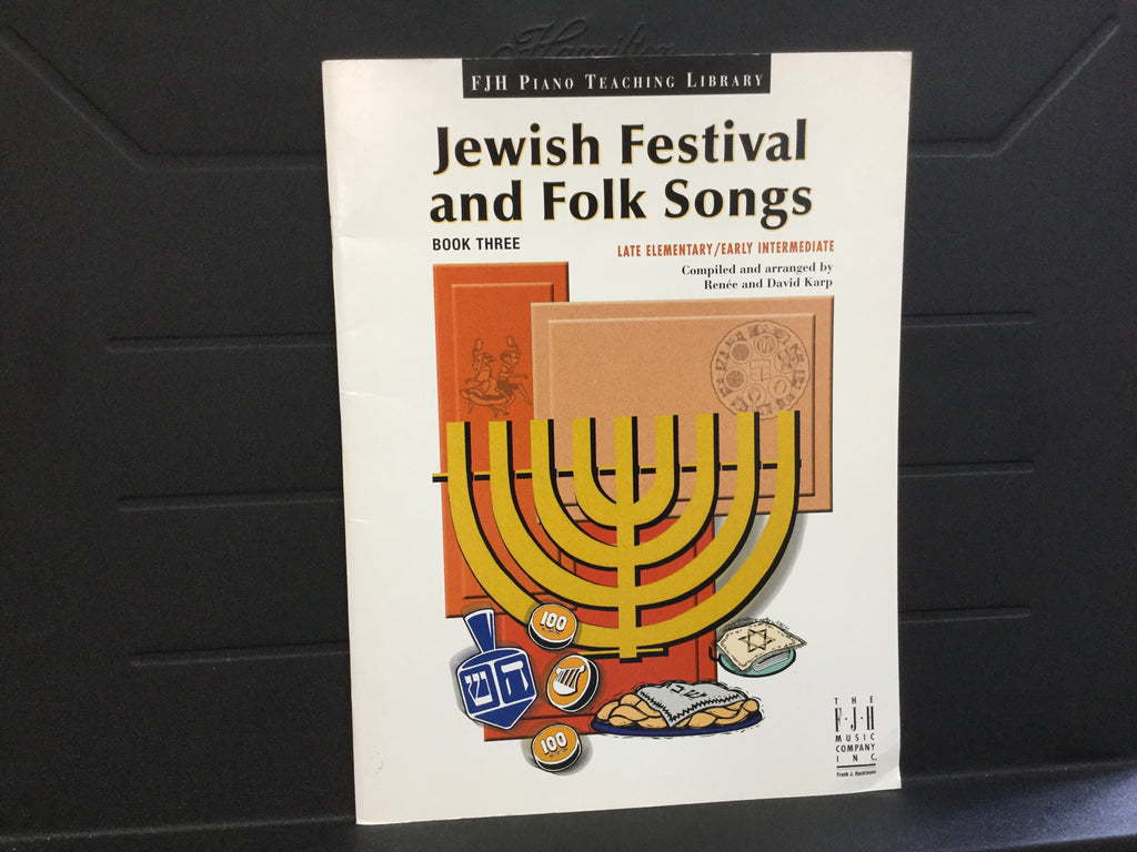 Jewish Festival and Folk Songs
