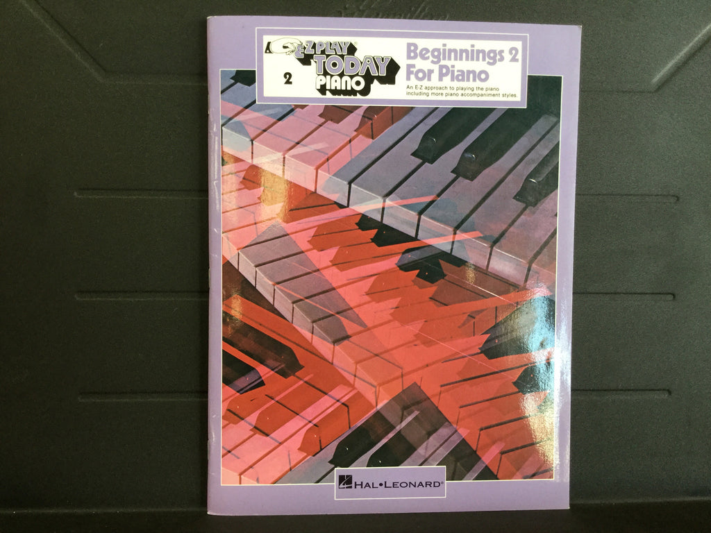 EZ Play Today Piano - Beginnings 2 For Piano