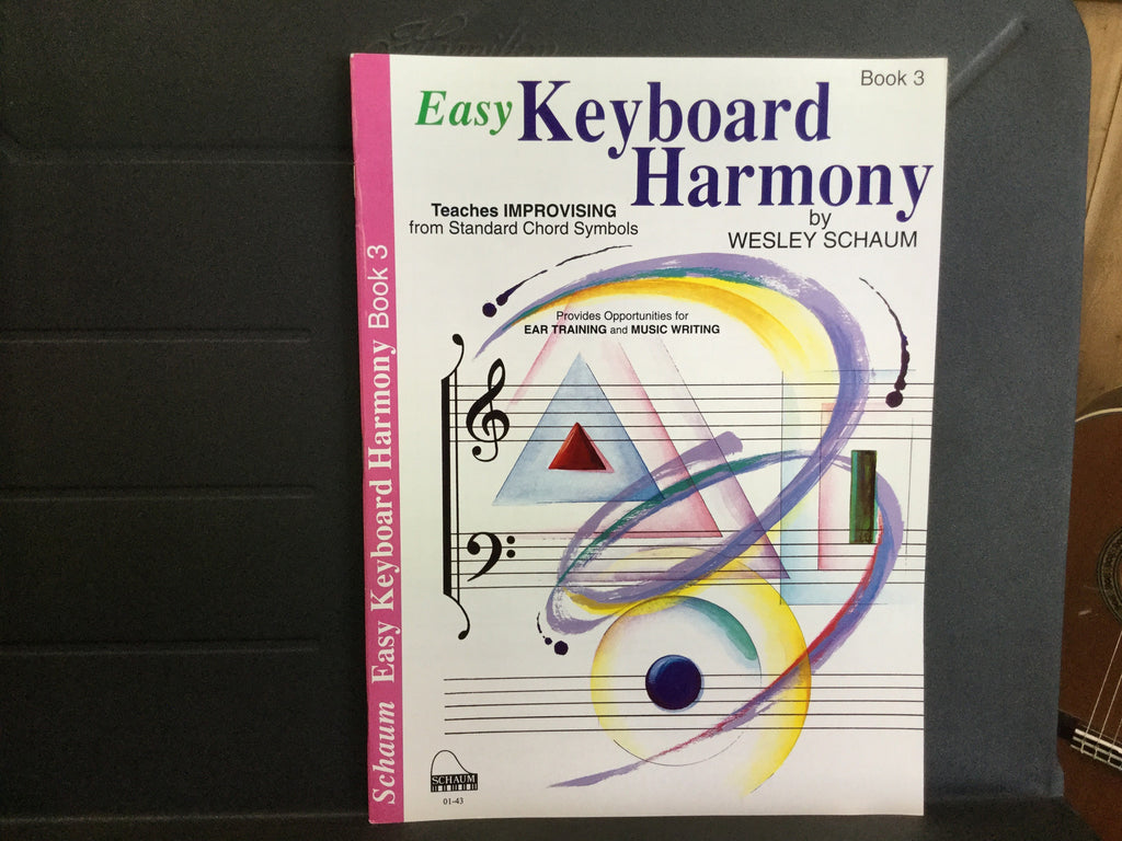 Easy Keyboard Harmony Book 3