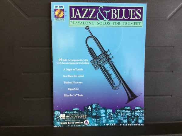 Jazz & Blues Playalong Solos For Trumpet
