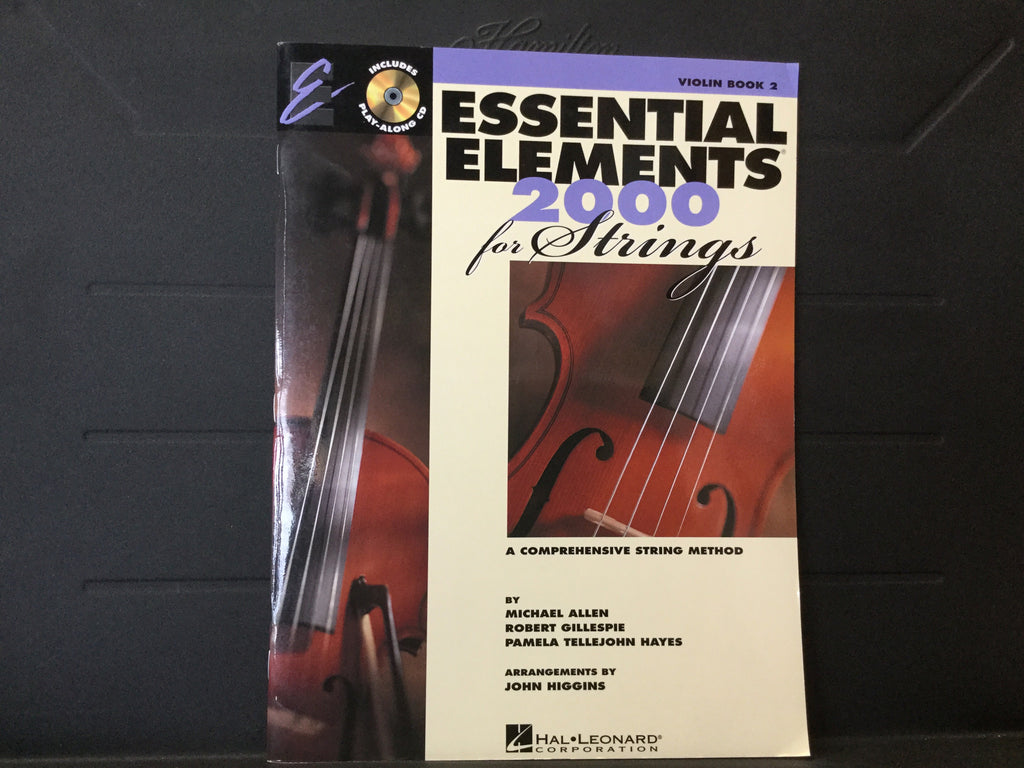 Essential Elements 2000 For Strings Violin Book 2