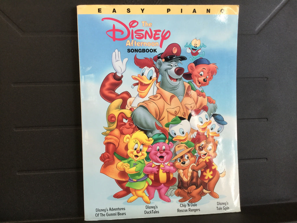 The Disney Afternoon Songbook