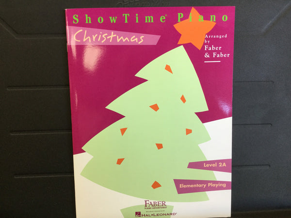 Showtime Piano Christmas Level 2A