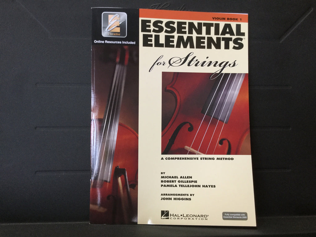 Essential Elements 2000 For Strings Violin Book 1