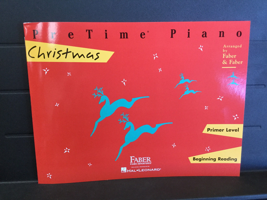 PreTime Piano Christmas Primer Level