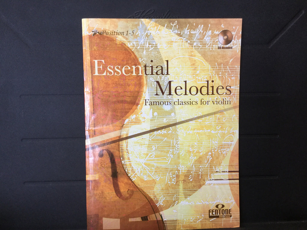 Essential Melodies Famous Classics For Violin