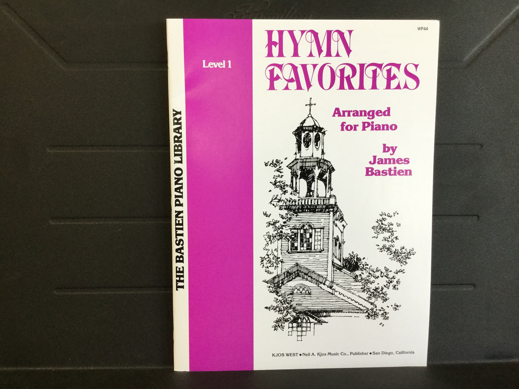 Hymn Favorites Arranged for Piano