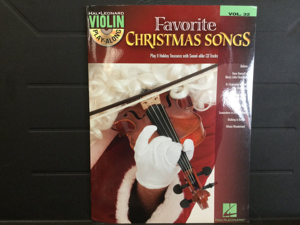 Favorite Christmas Songs Violin Volume 32