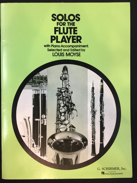 Solos For The Flute Player With Piano Accompaniment