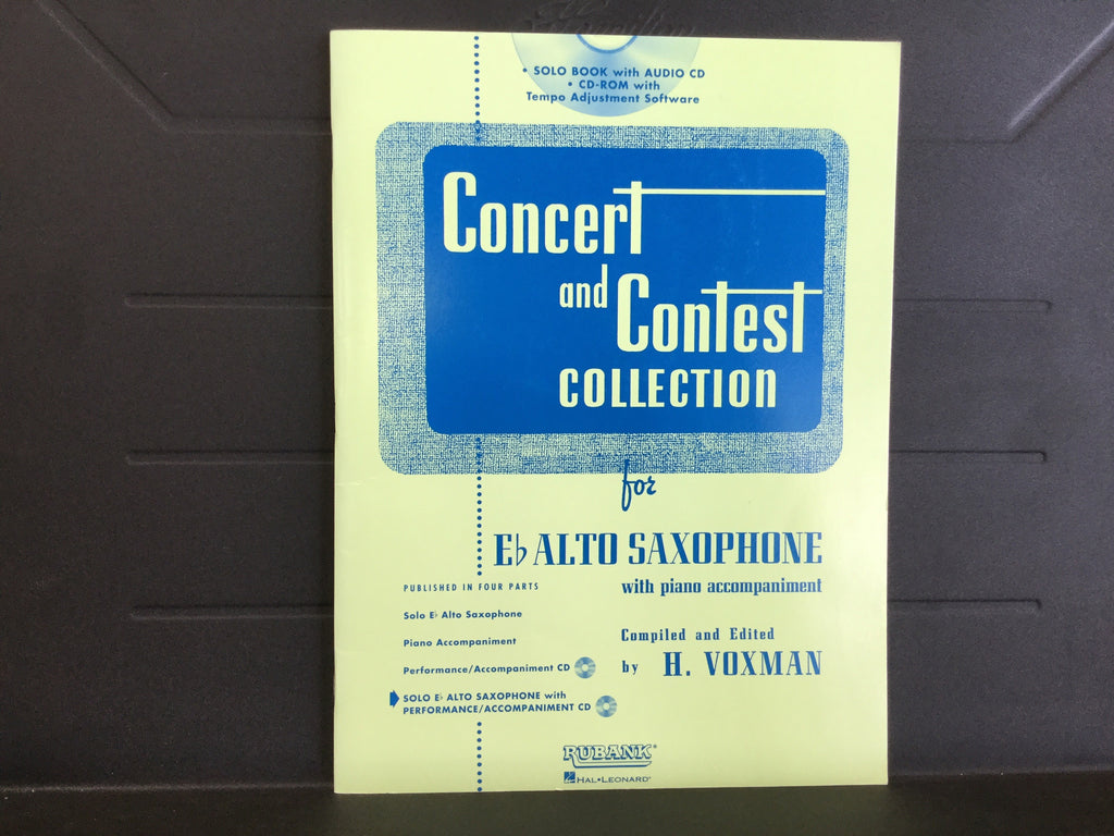 Concert and Contest Collection for Alto Saxophone