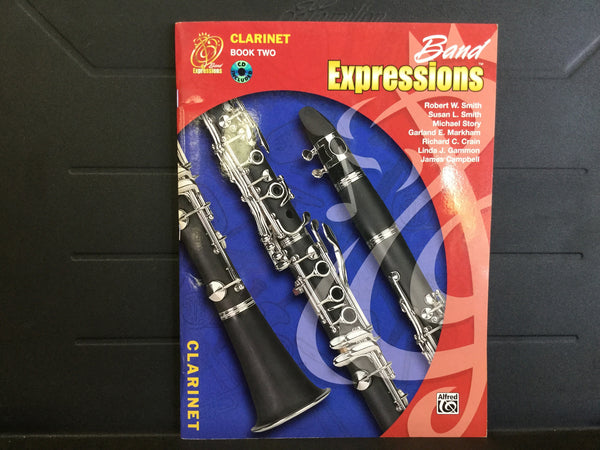 Band Expressions Clarinet Book 2