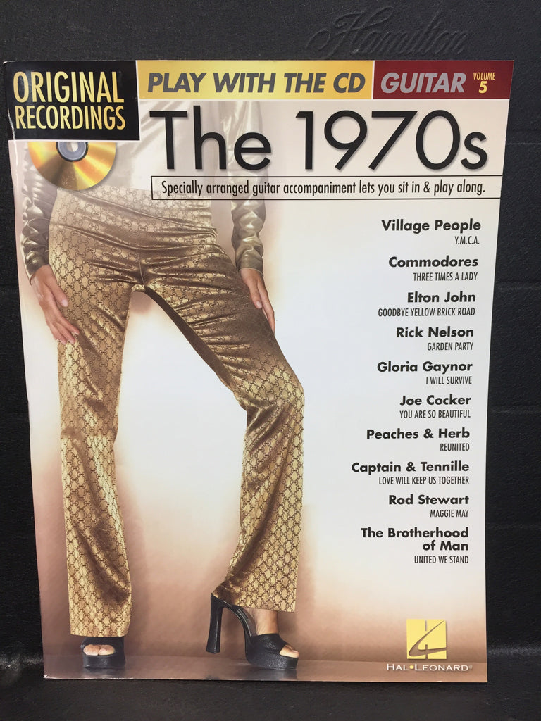 The 1970's Original Recordings Guitar Play Along