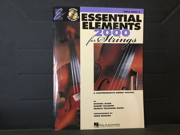 Essential Elements 2000 for Strings Viola Book 2