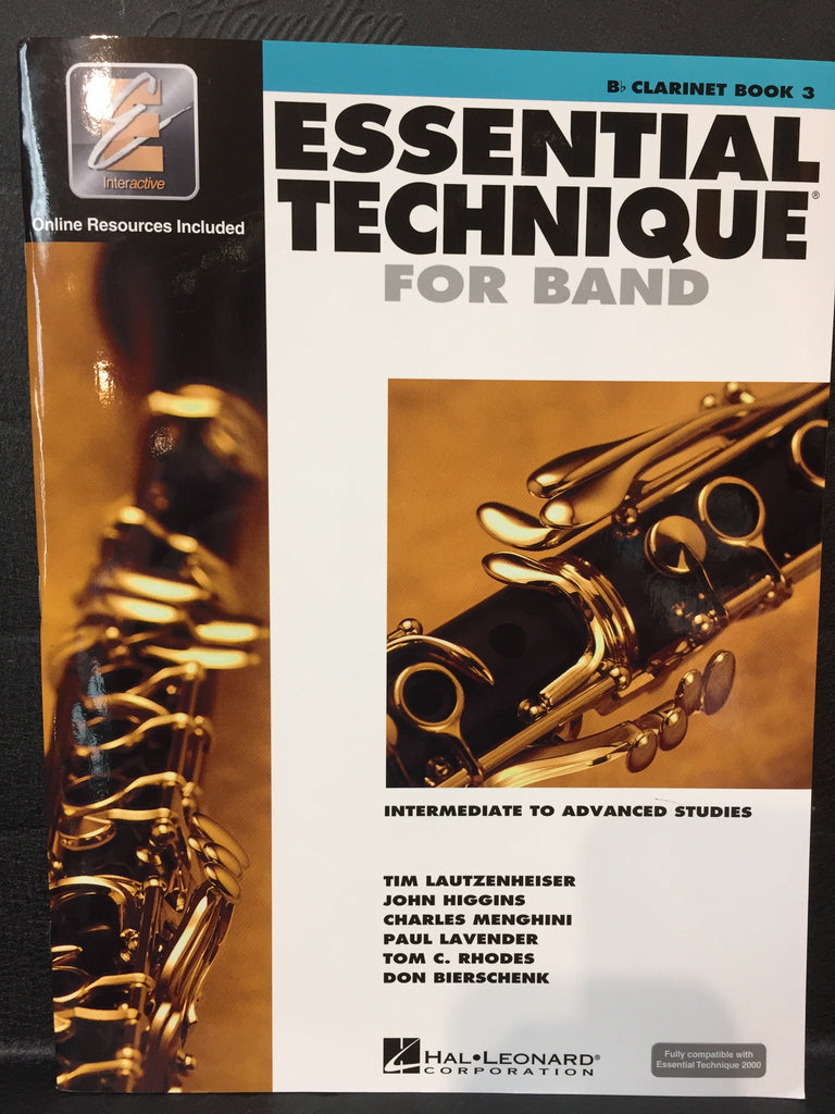 Essential Technique for Band Book 3 Clarinet