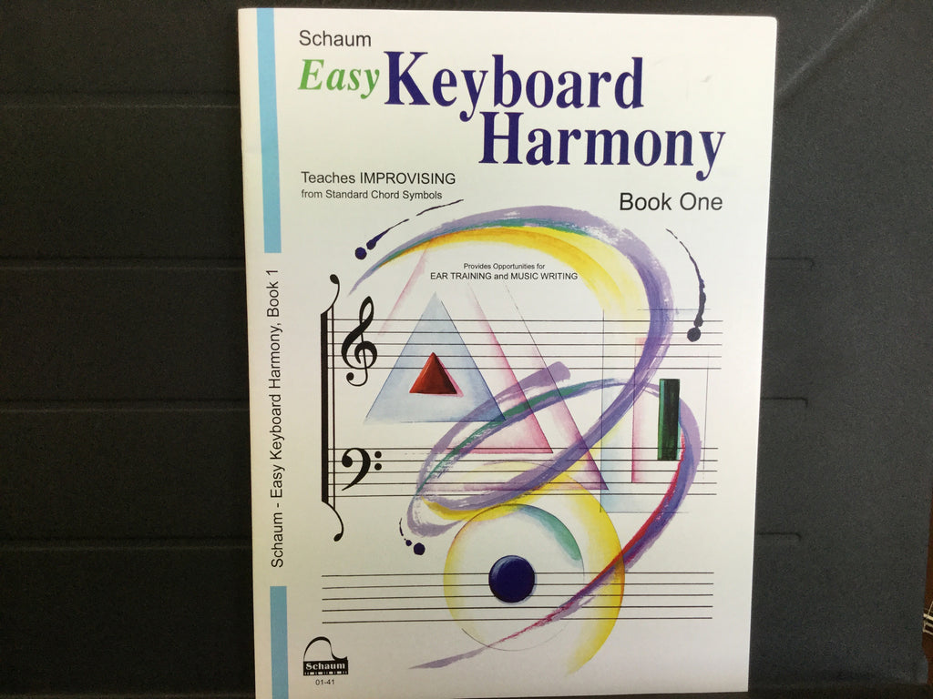 Easy Keyboard Harmony Book 1