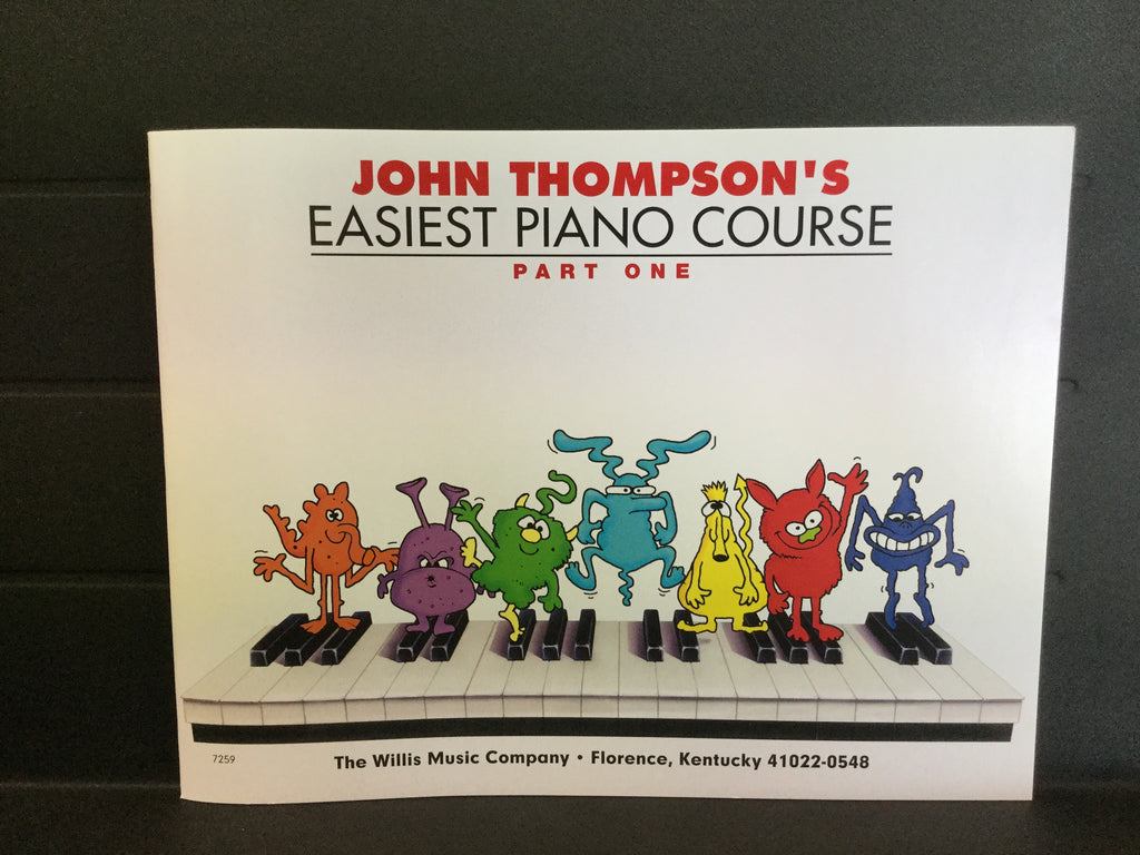 John Thompson's Easiest Piano Course Part One