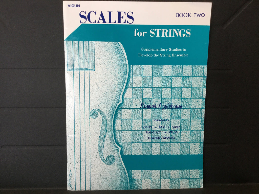 Scales for Strings Book Two