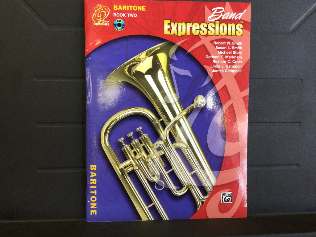 Band Expressions Baritone Book 2