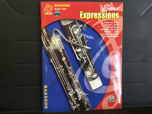Band Expressions Bassoon Book 2
