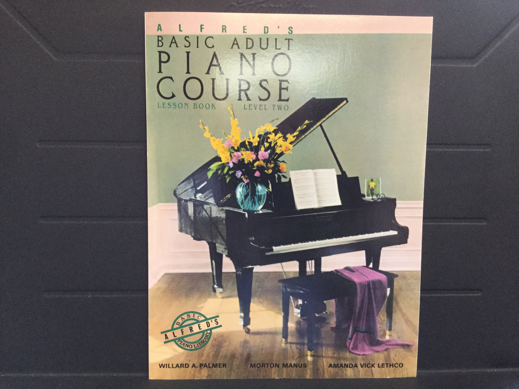 Alfred's Basic Adult Piano Course Lesson Book Level 2