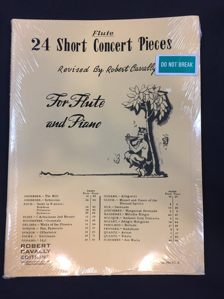 24 Short Concert Pieces for Flute