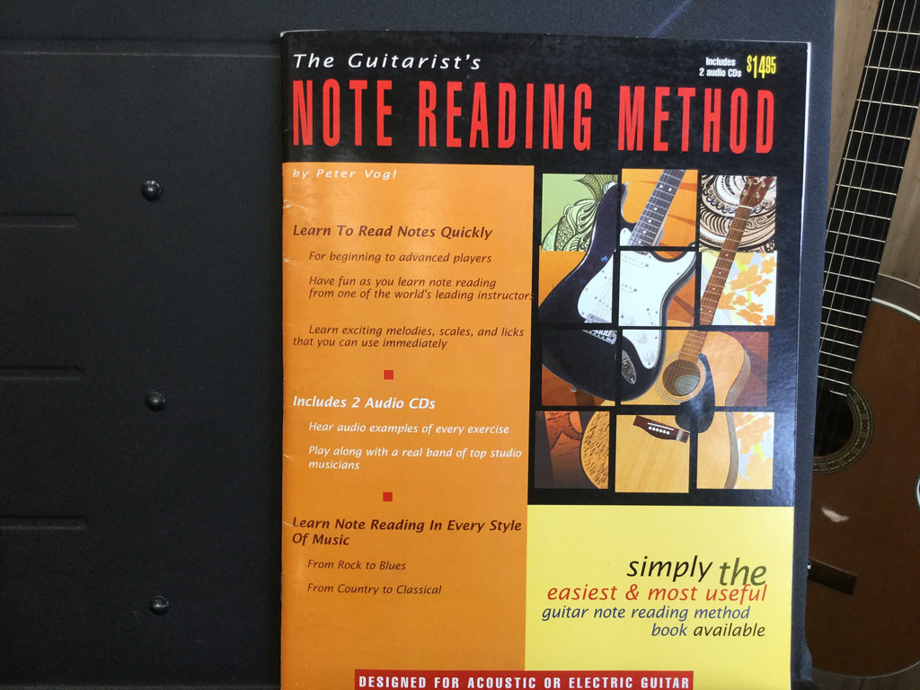The Guitarists Note Reading Method