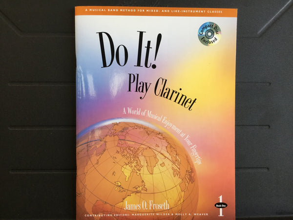 Do It! Play Clarinet Book 1