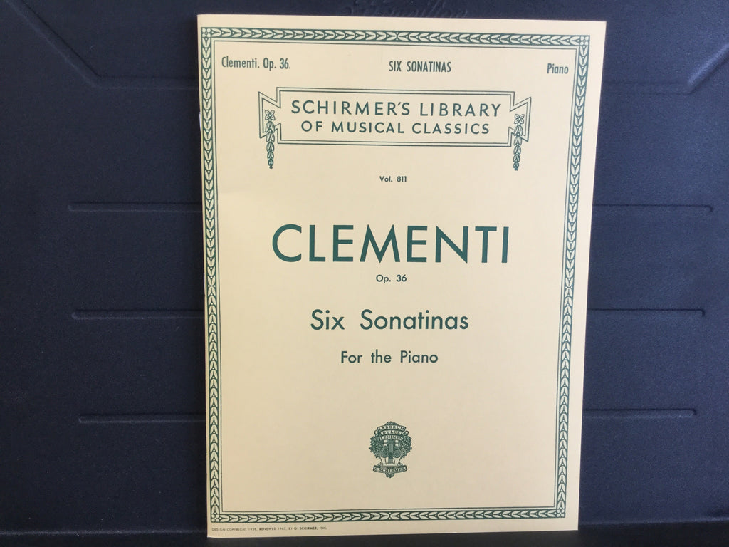 Clementi Op. 36 Six Sonatinas For the Piano