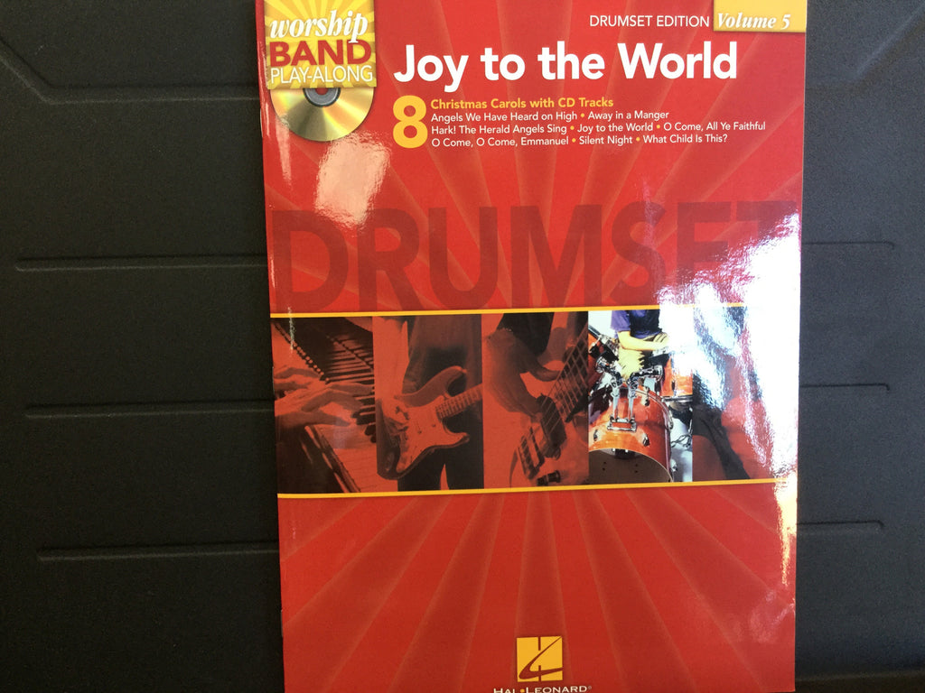 Worship Band Joy to the World Drumset Edition Volume 5